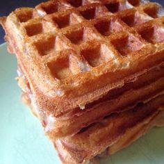 Paleo'ish on a Dime: Super Crunchy Paleo Waffles (AIP / Vegan / Gluten-free / Nut-free / Coconut-free)