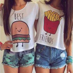 T-shirt best friends