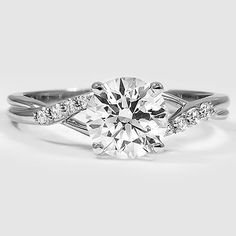 18K White Gold Chamise Diamond Ring LET IT BE KNOWN THAT THIS IS THE ONE