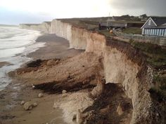 British coasts suffer years of erosion in 'hours' of storms, says National Trust