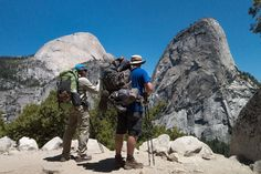 Hiking the John Muir Trail Day 1/13 -  Happy Isles to Little Yosemite Valley