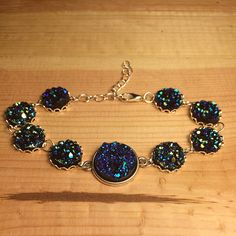 I just listed BlueGreen Chunky Dru… ($7) on Mercari! Come check it out! http://item.mercariapp.com/gl/m128745248