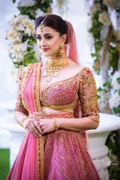 F you're wondering about the latest lehenga blouse designs, you've reached the right spot. A designer lehenga blouse can make your look fresh from fashion Blouse Back Neck Designs, Bridal Blouse Designs, Latest Blouse Designs, Lehenga Designs Latest, Lengha Blouse Designs, Choli Designs, Bridal Outfits, Bridal Dresses, Bridal Looks