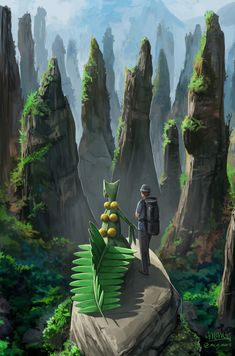 Exploring with Sceptile by mcgmark on DeviantArt - Pokemon Pokemon Poster, O Pokemon, Pokemon Fan Art, Pokemon Comics, Pokemon Fusion, Pokemon Cards, Cool Pokemon Wallpapers, Cute Pokemon Wallpaper, Animes Wallpapers