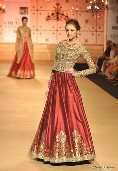 Ashima Leena at Delhi Couture Week 2012