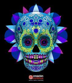 Calavera Mexicana 3D on Wacom Gallery