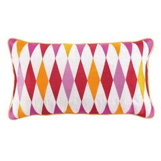 Jennifer Paganelli Franc Pillow in Pink from the Bright Ideas event at Joss and Main!