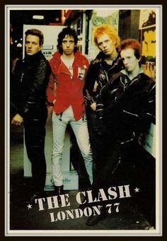 "cartoonfanno1: ""The Clash """