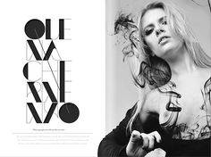57 Ideas for fashion magazine font layout design Magazine Fonts, Magazine Design, Book Design, Layout Design, Type Design, Flyer Design, Design Ideas, Design Inspiration, Editorial Design