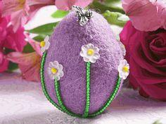 Spring Fling felt egg -- We'll teach you how to make it.