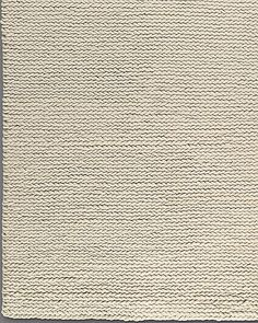 9u0027 X 12u0027 $1945 Chunky Braided Wool Rug   Cream