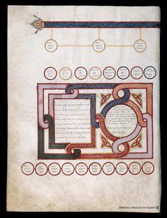 Beato de Liébana. Beato de Liébana , Santo — Manuscrito — 1047 32