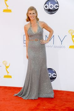 Connie Britton in Andrew Gn #Emmys #RedCarpet