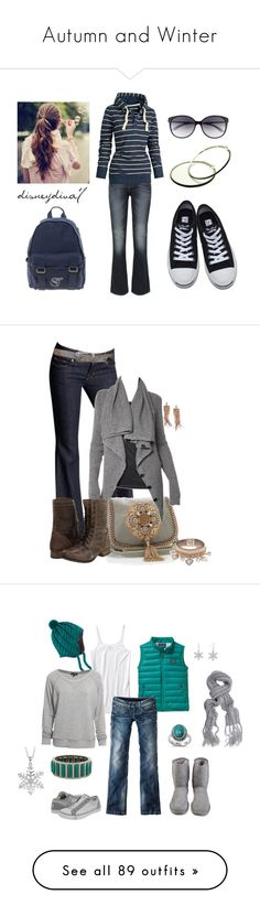 """Autumn and Winter"" by mackenna-moore ❤ liked on Polyvore featuring Levi's, Fat Face, Converse, French Connection, Kate Spade, Fantasy Jewelry Box, women's clothing, women's fashion, women and female"