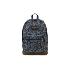 JanSport Right Pack Expressions Blue Floral Sparkle Jacquard ($64) ❤ liked on Polyvore featuring bags, backpacks, blue floral sparkle jacquard, blue bag, flower print backpack, floral bag, animal print backpack and animal print bags