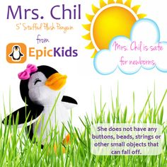 EpicKids Girl Penguin Plush - Stuffed Animal Toy - Suitable for Babies and Children - 5 inches Little Dolly, Outdoor Fun For Kids, Summer Activities For Kids, Kid Spaces, Toddler Toys, Gifts For Boys, Newborns, Phonics, Pet Toys