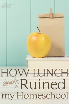 Yes, lunch was almost the end of us. The grilled cheese oozed down the…