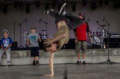 Break Dancing at Belleville Waterfront and Ethnic Festival