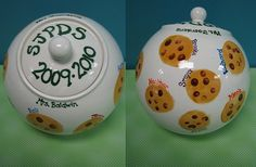 cookie jar with fingerprint chips