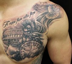 Warrior chest piece