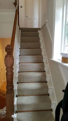 Client: Private Residence In North London Brief: To Supply U0026 Install Carpet  With Stair