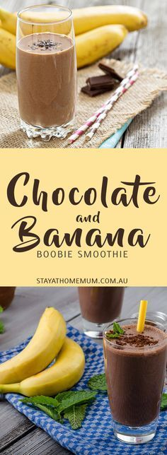 If you want something delicious to drink whilst boosting your milk supply, why not try this delicious Chocolate, Peanut Butter and Banana Lactation Supporting Super Smoothie!