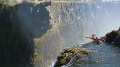 Devil's Pool. Victoria Falls, Livingstone, Zambia.