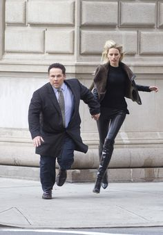 Reese is in prison wearing orange. Fusco helps tall blonde damsel in distress. Watch the end when she shows her thanks to Fusco, see the look on his face! Made his day, eh!