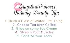 #iWokeUpLikeThis can either be impressive, or frightening, depending on how you start your day! These five tips will help you achieve better-looking skin every morning without having to buy any new products or adding difficulty to your routine! 1....