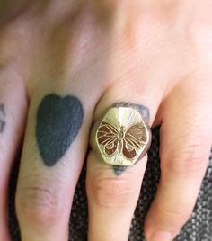 Signet Ring para mi querida amiga @palomavillaescusa  #juliocuellarhandmade