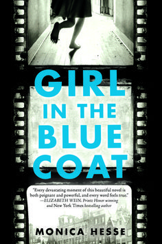 Cover Reveal: Girl in the Blue Coat by Monica Hesse -On sale April 5th 2016 by Little, Brown Books for Young Readers -An unforgettable story of bravery, grief, and love in impossible times  The missing girl is Jewish. I need you to find her before the Nazis do.   Amsterdam, 1943. Hanneke spends her days procuring and delivering sought-after black market goods to paying customers, her nights hiding the true nature of her work from her concerned parents, and every waking moment mourning her…
