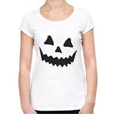 Halloween Pumpkin Emoji Damen (Women's) T-Shirt