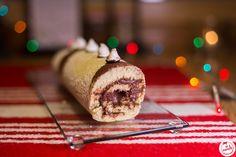 Gateau roulé au nutella Churros, Croissant, Beignets, Doughnut, Biscuits, Deserts, Gluten, Blog, Plaque