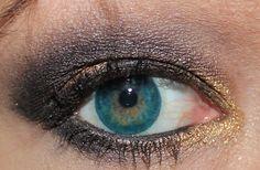 Clara, Autumn, and Dirty Deals Metallic Eyeshadow, Eyeshadow Looks, That Look, Autumn, Gold, Beauty, Fall Season, Eye Shadows, Fall