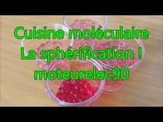 Cuisine moléculaire - Spaghetti de jus de fruit - YouTube