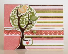 Sweet card from Bundle of Joy Mini collection by Kandis Smith.
