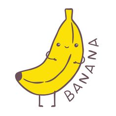 cute banana cartoon - Google Search