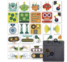 Magnetic Robot Creation Game with Moving Parts Create Your Own Robot, Gender Neutral Toys, Robot Images, Steam Toys, Robot Parts, Money Safe, Plastic Sheets, Inventions, Little Ones