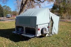 1959 JC Higgins Tent Trailer This looks just like the trailer I just got.  Mine has an Apache name plate on it.  #trailer #tent #love  #TrailerTentrental #rentatent #trailertent  http://www.rentatrailertent.co.uk/