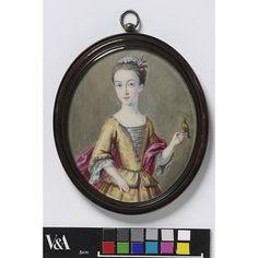 Miss Elizabeth Weld (Portrait miniature)