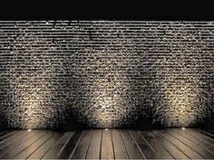 When designing your backyard, don't forget to carefully plan your lighting as well. Get great ideas for your backyard oasis here with our landscape lighting design ideas. Exterior Wall Light, House Paint Exterior, Exterior Lighting, Stone Exterior, Backyard Lighting, Outdoor Lighting, Lighting Ideas, Ceiling Lighting, String Lighting