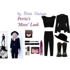 Perrie's 'Move' Look