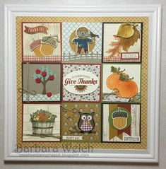 Fall Sampler - Barbara Welch - Creative Stampin' Spot: Stampin Friends Fall Blog Hop