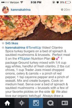Tone it up recipe
