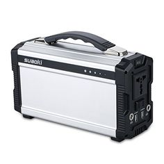 Simple to Use Up to 220 watts of power in a small, silent, portable, zero-emissions electric generator of #Suaoki, and it requires no electrical know-how to sim...