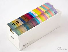 MT Japanese washi pastel masking tape
