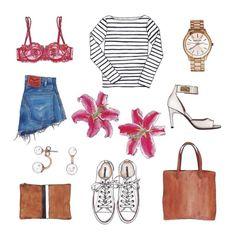 spring fashion  Valeria Rienzi
