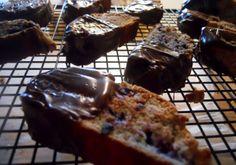 Chocolate-dipped Huckleberry Biscotti recipe