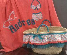 Capazo y toalla para Andrea. Www.didalonline.com