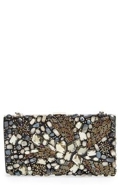 Natasha Couture Beaded Crystal Clutch available at #Nordstrom: